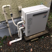 RFS-V1611SA→RFS-A1610SA 給湯器交換工事専門店|プランマーズ【世田谷区】