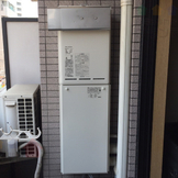 OUR-1600-2→RUX-A1611W-E 給湯器交換工事専門店|プランマーズ【豊島区】